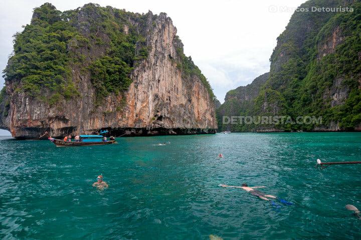 Maya Bay snorkeling