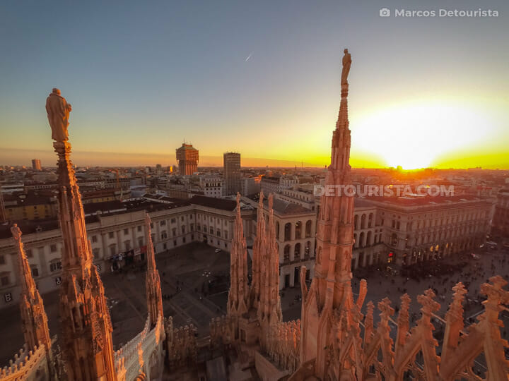 Milan Cathedral in Milan, Italy