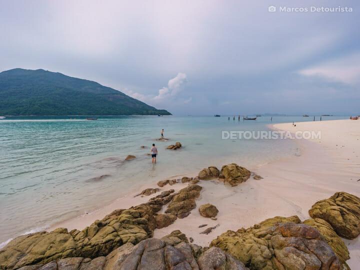 North Point Beach (Bulow Beach)  in Ko Lipe, Satun, Thailand