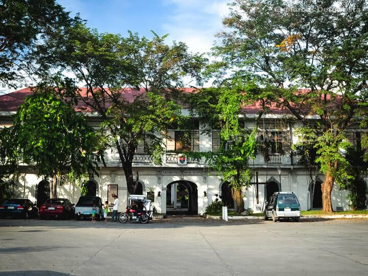 Palacio De Arzobispado in Vigan, Ilocos Sur, Philippines