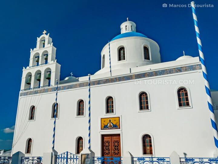 Panagia Platsani Church, Santorini