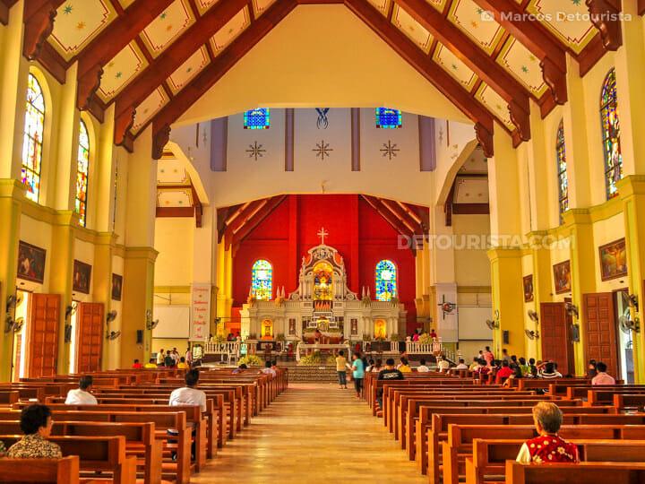 Peñafrancia Basilica Interiors
