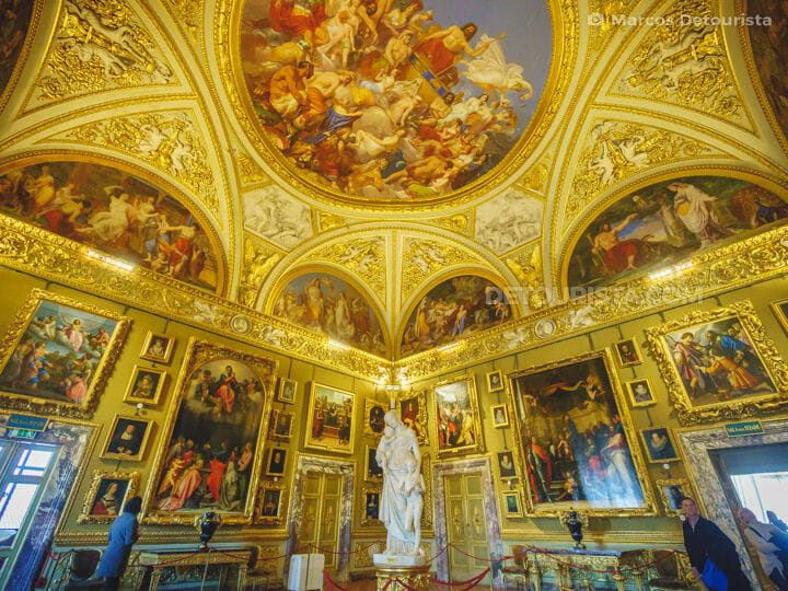 Pitti Palace in Florence, Italy