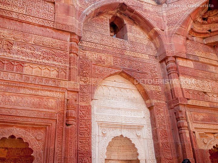 Qutub Minar in New Delhi, India