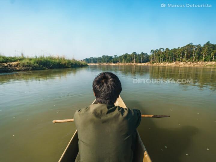 Rapti River Canoe Cruise, Chitwan