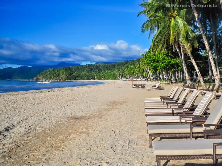 Sabang Beach near Puerto Princesa Underground River, Palawan, Ph
