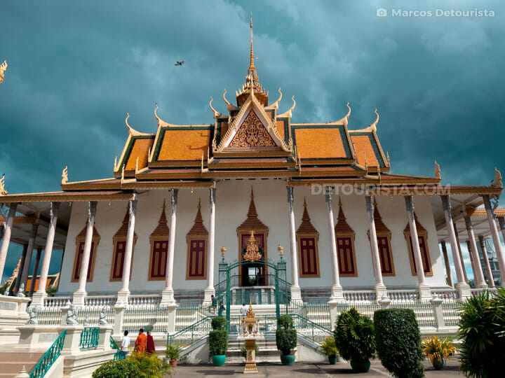 Silver Pagoda at the Royal Palace in Phnom Penh, Cambodia