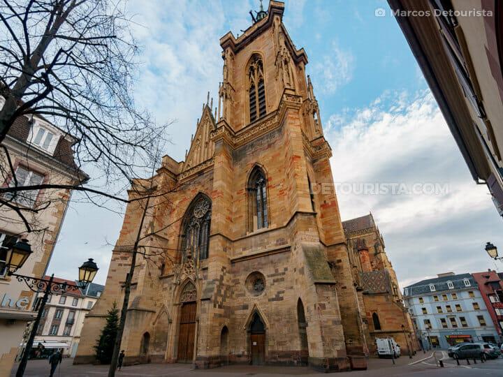 St. Martin's Church in Colmar, France