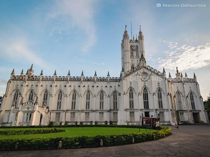 St. Paul's Cathedral in  Kolkata, India
