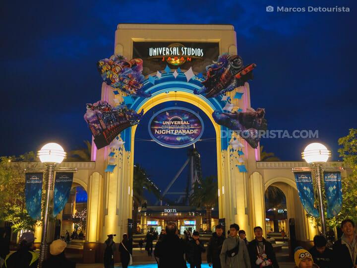Universal Studios Japan in Osaka, Japan