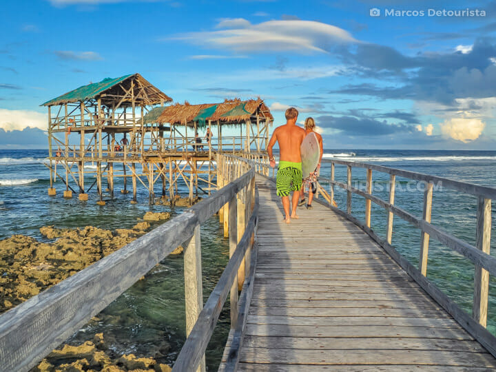Cloud 9 Boardwalk, Siargao Island
