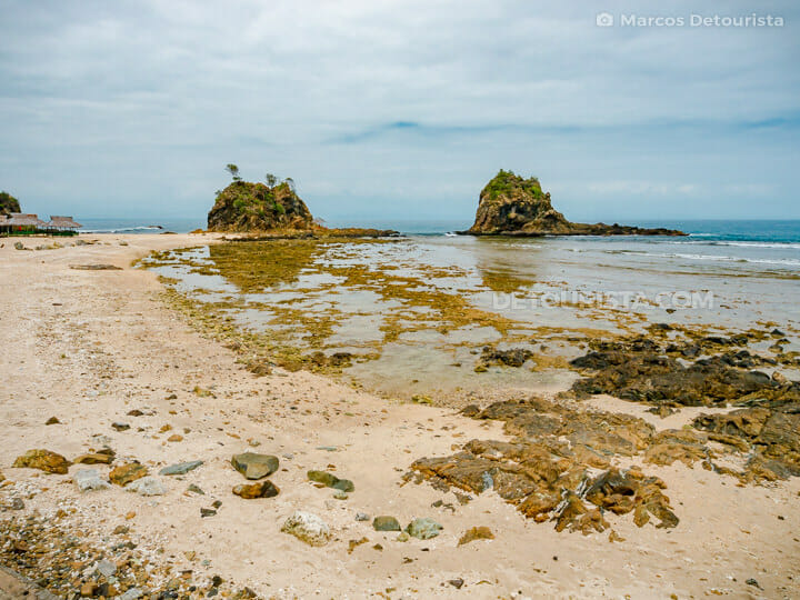 Diguisit Rock Formations, in Baler, Aurora, Philippines