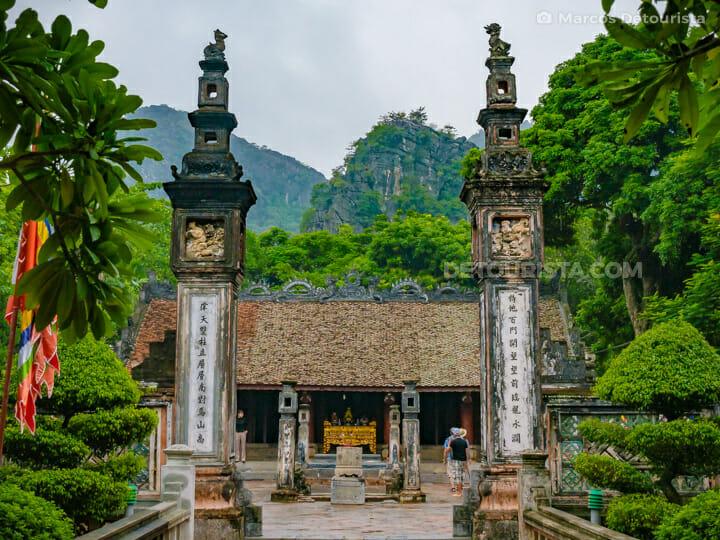 Dinh Tien Hoang Temple at Hua Lu Ancient Citadel, in Ninh Binh, Vietnam