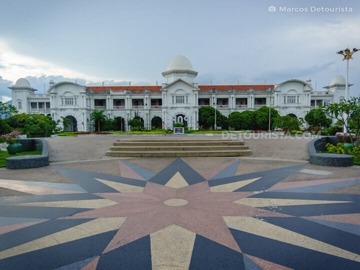Ipoh Railway Station, in Ipoh, Malaysia