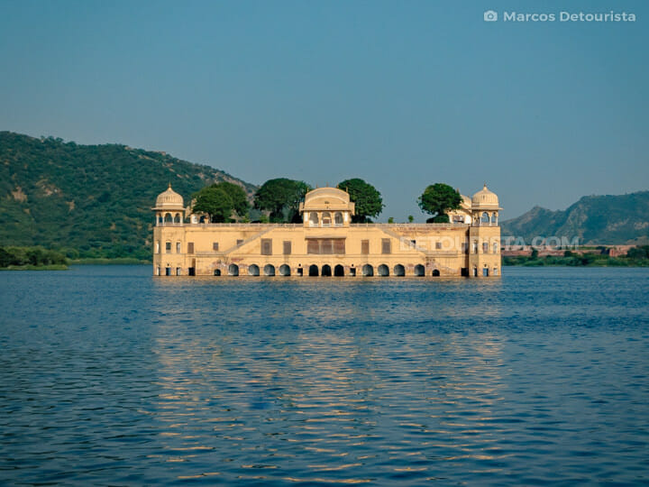 Jal Mahal & Man Sagar Lake in Jaipur, Rajasthan, India