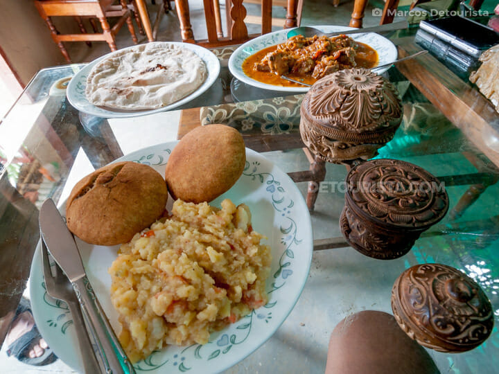 Litti Chokha (Bihar Food), Bodghaya