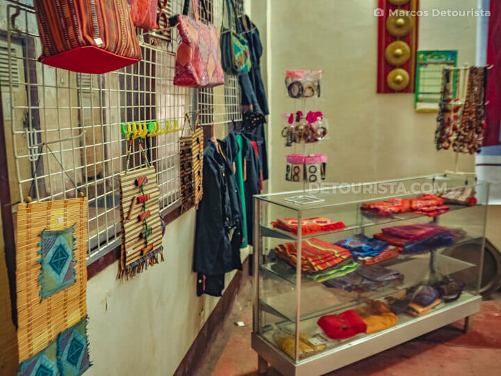 Local Crafts Souvenir Shop in Isabela City, Basilan, Philippines