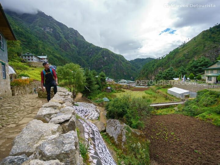 Monjo village