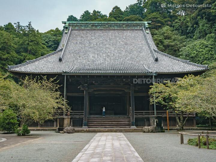Myohon-ji Temple in Kamakura, Japan