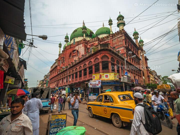 Nakhoda Mosque in Bara Bazar, Kolkata, India