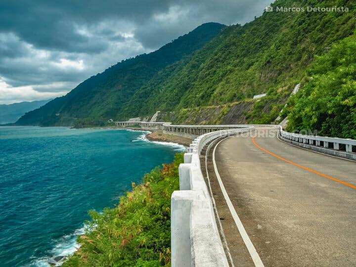 Patapat Viaduct in Ilocos Norte, Luzon,  Philippines