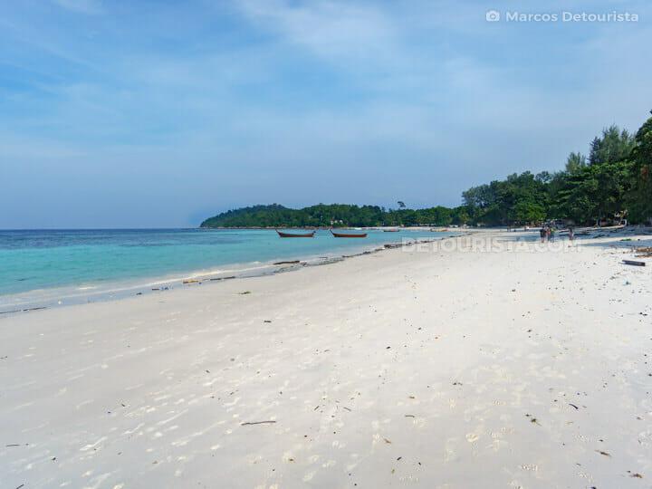 Pattaya Beach in Ko Lipe, Satun, Thailand
