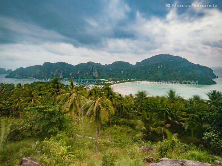 Phi Phi Big Island viewpoint