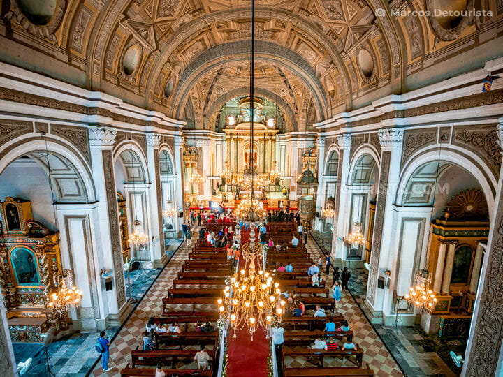 San Agustin Church interiors