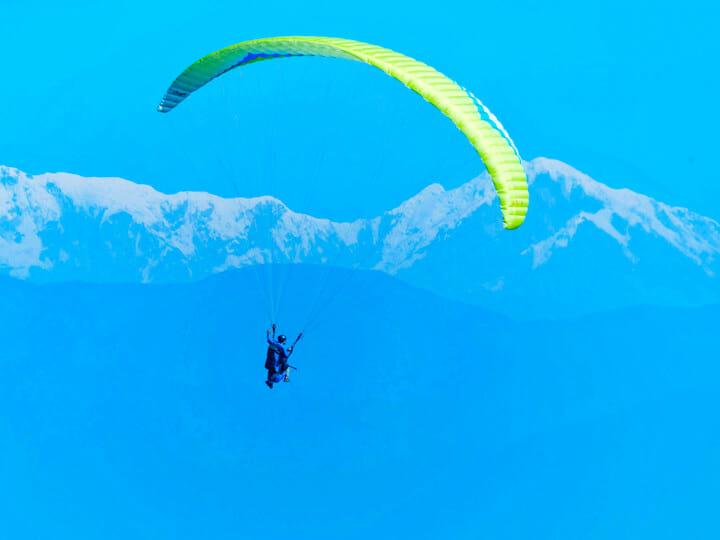 Sarangkot Hill Paragliding in Pokhara