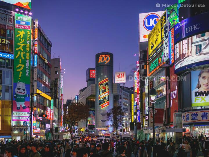 Shibuya Crossing in Tokyo, Japan Japan