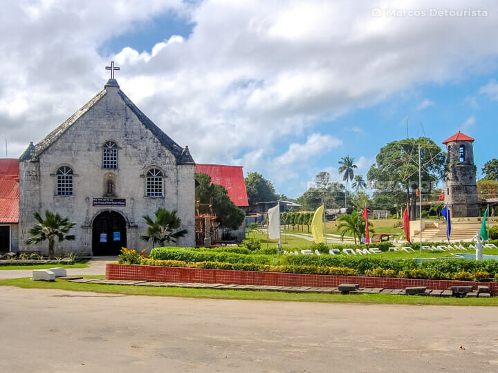 Siquijor Church and Watchtower in Siquijor, Philippines