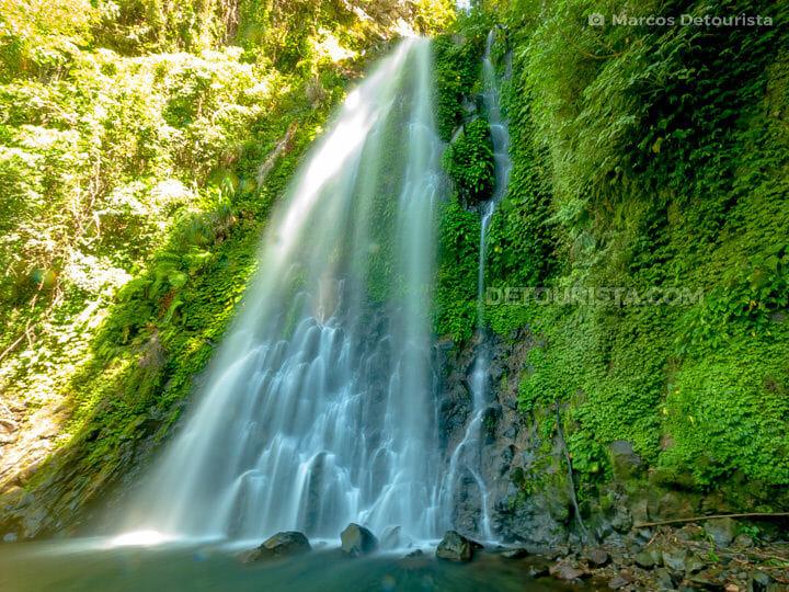 Ulan-ulan Falls in Almeria, Biliran, Philippines