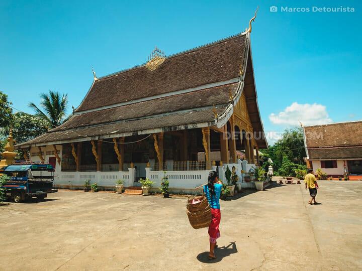Vat Phonxay (temple) in Luang Prabang, Laos