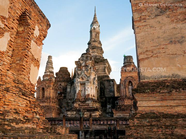 Wat Mahathat in Sukhothai Historical Park, Thailand, in Sukhothai, Thailand