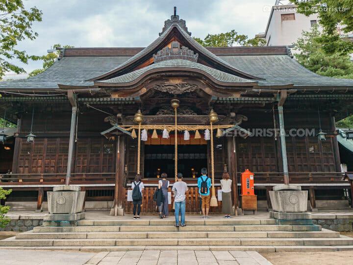 Yohashira Shrine in Matsumoto, Nagano, Japan