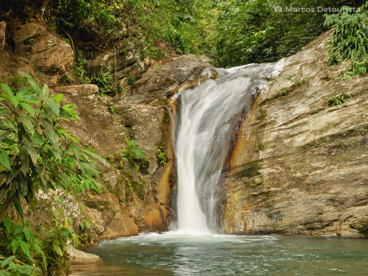 Aninuan Falls, Puerto Galera
