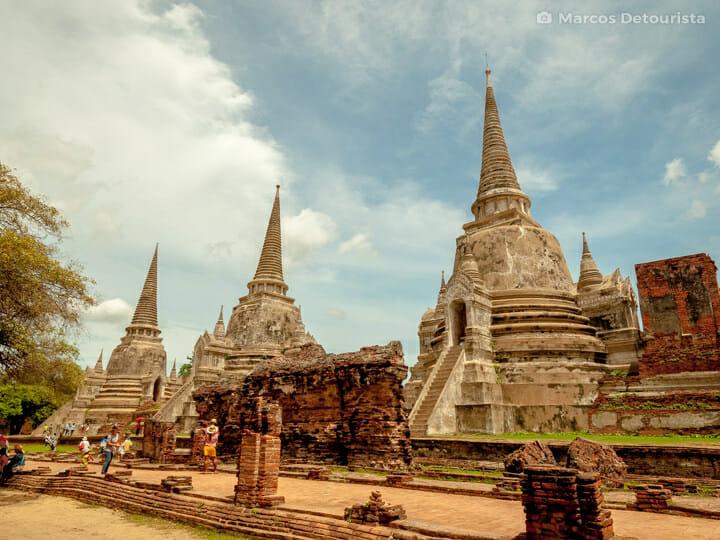 Ayutthaya Ancient Royal Palace in Ayutthaya, Thailand