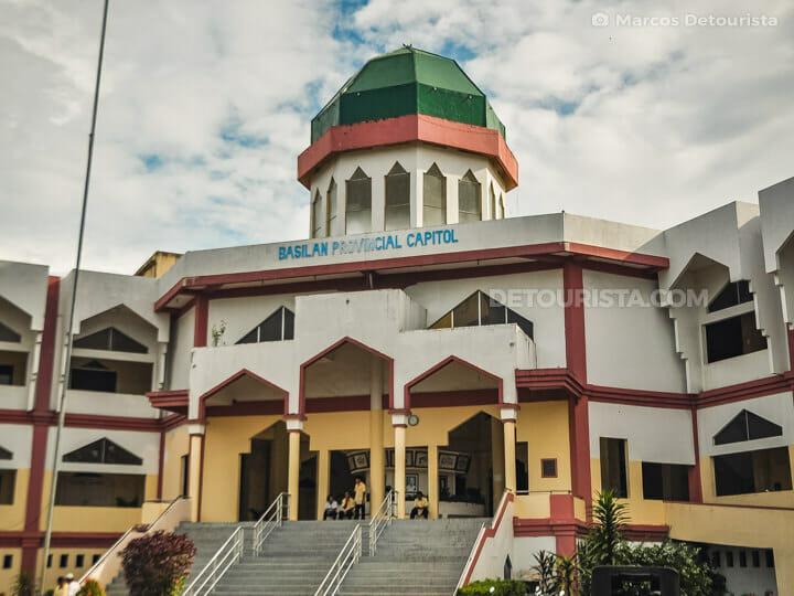 Basilan Provincial Capitol in Isabela City, Basilan, Philippines
