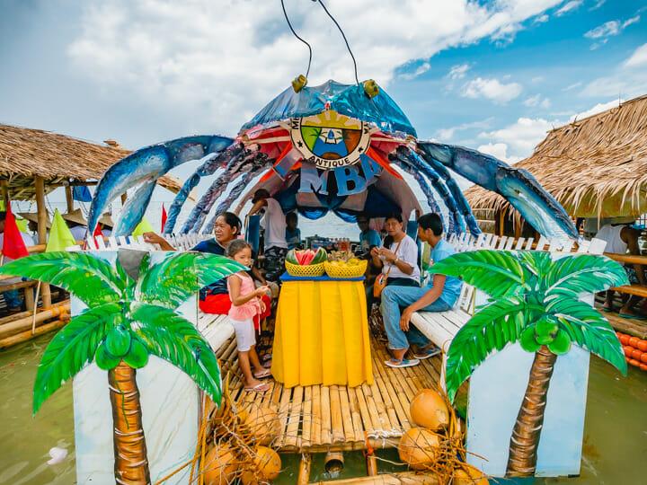 Tatusan Festival (Coconut Crab Festival) in Caluya, Antique, Philippines