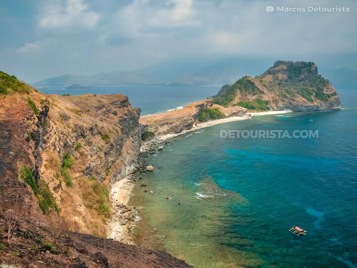 Capones Island, in Pundaquit, Zambales, Philippines