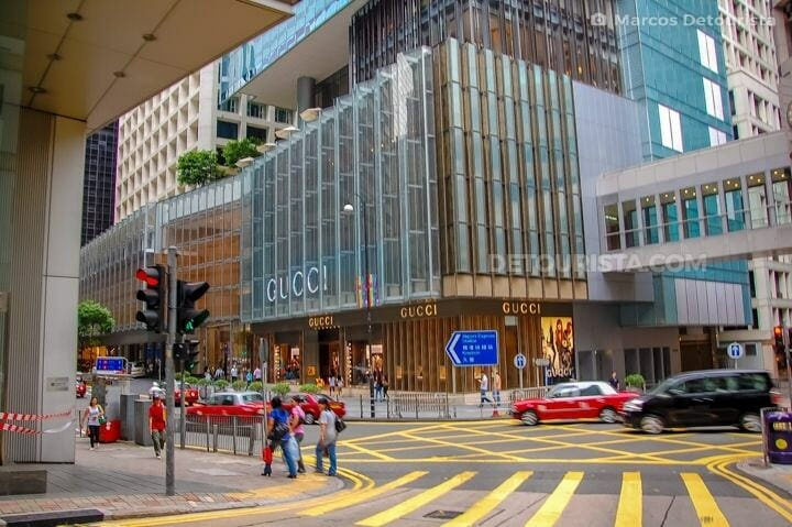 Central Hong Kong Shopping District