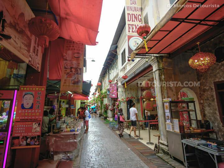 Concubine Lane, in Ipoh, Malaysia