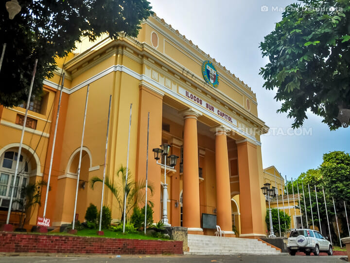Ilocos Sur Provincial Capitol in Vigan, Ilocos Sur, Philippines