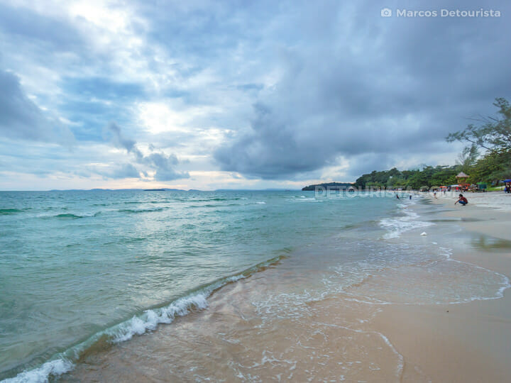 Independence Beach in Sihanoukville, Cambodia