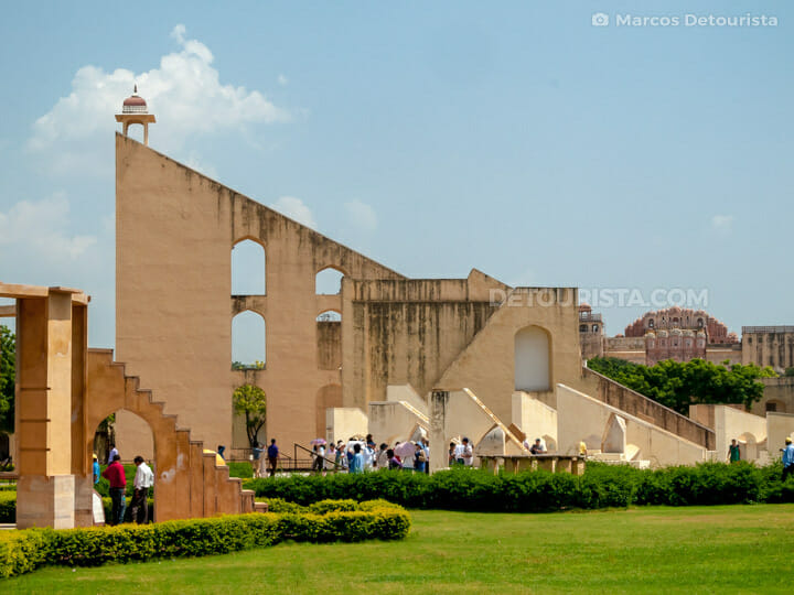 Jantar Mantar in Jaipur, Rajasthan, India