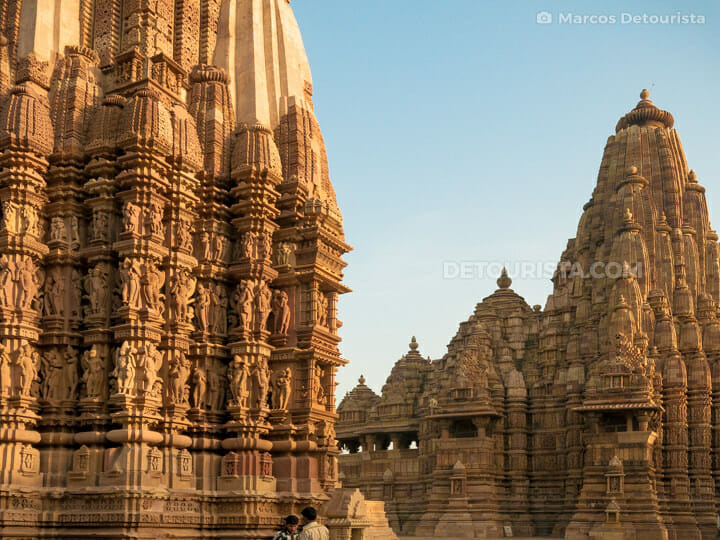 Kandariya Mahadeva and Devi Jagdamba Temple, Khajuraho
