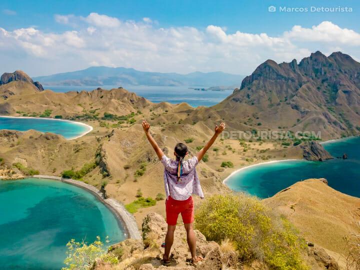 Marcos at Padar Island