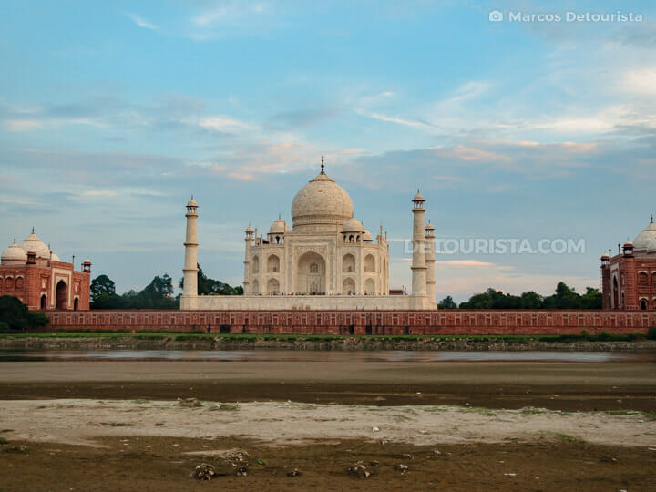 Mehtab Bagh & Taj Mahal, Agra