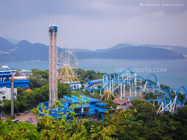 Ocean Park thrill rides