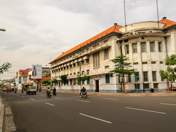 Old Surabaya Colonial Heritage Architecture in Surabaya, East Java, Indonesia